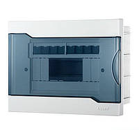 Lezard Бокс с прозрачной крышкой ЩРВ-П-8 для внутренней установки 8-и модульных устройств
