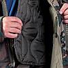 Куртка робоча камуфляжна з відстібною подкладкою Польща (утеплений робочий одяг) LH-HUNPOL MO, фото 4