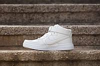 Кроссовки Nike Air Force High БЕЛЫЕ, фото 1