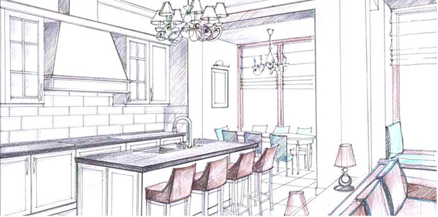 проектирование кухни на заказ