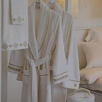 Махровые халаты класса люкс eke home (турция), бамбук, хлопок,