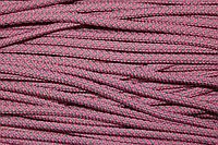 Шнур 6мм с наполнителем (100м) розовый+св.серый, фото 1