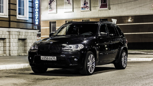 Диски и шины на BMW X5 E 70