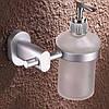 Дозатор для жидкого мыла настенный для супермаркета кафе ресторана магазина белый