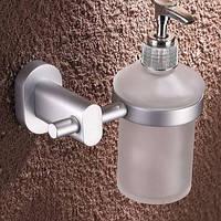 Дозатор для жидкого мыла настенный для супермаркета кафе ресторана магазина белый, фото 1