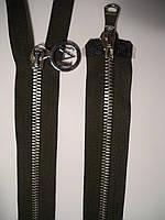Молния металлическая разъемная Т-5, 90см, 2 бегунка