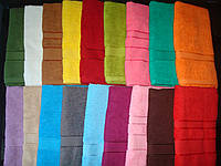 Махровое полотенце 140*70 см цвета в ассортименте