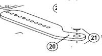 Кронштейн крепления задний AN-MOTORS ASW.5020