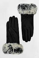 Женские кожаные перчатки Бискотти
