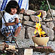 BRAZIER Костровая мини-чаша с жаровней барбекю в комплекте, Ø34 см , фото 2