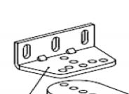 Уголок крепления кронштейна заднего AN-MOTORS ASW.5019