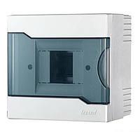 Lezard Бокс с прозрачной крышкой ЩРН-П-4 для наружной установки 4-х модульных устройств