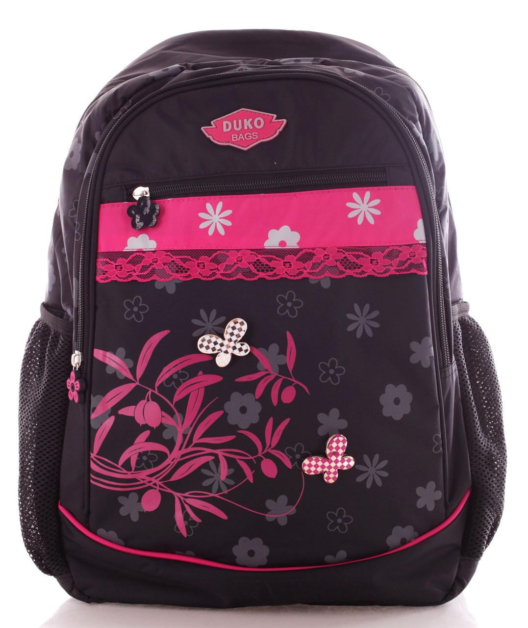 Рюкзак Bag and backpack black, черный/розовый 15 л