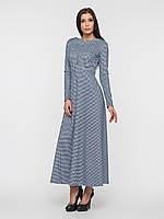 Платье в пол с длинными рукавами 90131