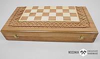 Шахматы, шашки, нарды ручной работы