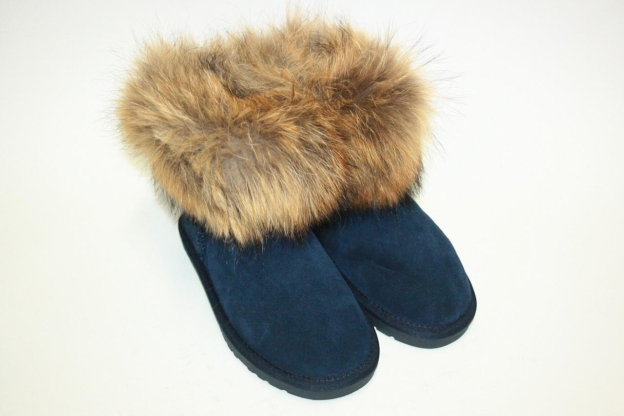 УГГИ с лисой  / women's shoes boots ek1