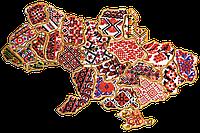"""Набор для вышивки бисером «Магнит """"Карта Украины» Одесская область"""