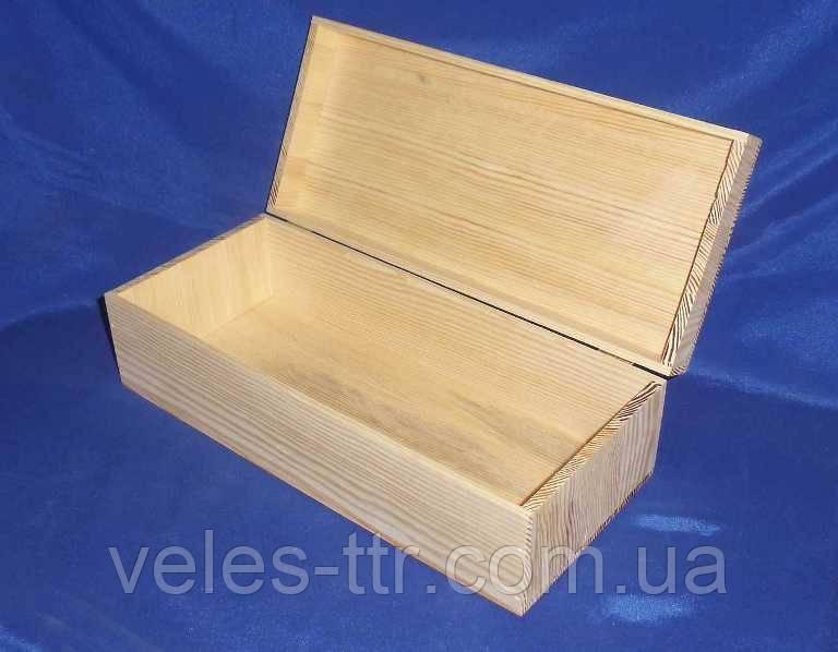 Коробка Пенал 35х15х11 см дерево заготовка для декора