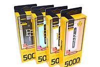 Внешний аккумулятор Power Bank 5000mAh Remax