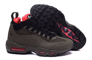 Кроссовки Nike Air Max 95 Sneakerboot Dark Brown Red