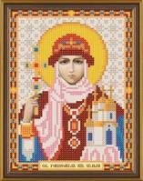 Рисунок на ткани для вышивания бисером Св. Равноап. Ольга Княгиня Киевская БИС 5040