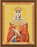 Рисунок на ткани для вышивания бисером Св. Мц. Царица Александра Римская БИС 5101