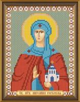 Рисунок на ткани для вышивания бисером Св. Прп. Ангелина Сербская БИС 5107