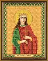 Рисунок на ткани для вышивания бисером Св. Вмц. Ирина Македонская БИС 5124