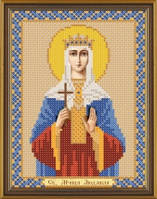 Рисунок на ткани для вышивания бисером Св. Мц. Людмила Чешская БИС 5131