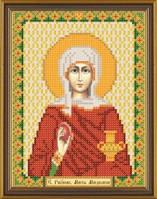 Рисунок на ткани для вышивания бисером Св. Равноап. Мария Магдалина БИС 5134