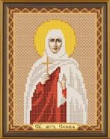 Рисунок на ткани для вышивания бисером Св. Мц. София БИС 5143