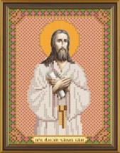 Рисунок на ткани для вышивания бисером Св. Прп. Алексий Человек Божий БИС 5149