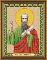 Рисунок на ткани для вышивания бисером Св. Ап. Павел БИС 5192