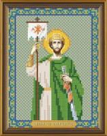 Рисунок на ткани для вышивания бисером Св. Равноап. Царь Константин БИС 5185