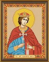 Рисунок на ткани для вышивания бисером Св. Мч. Эдуард (Эдвард) Король Английский БИС 5216