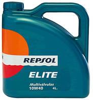 Моторное масло REPSOL ELITE MULTIVALVULAS 10W40 4л