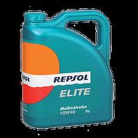 Моторное масло REPSOL ELITE MULTIVALVULAS 10W40 5л