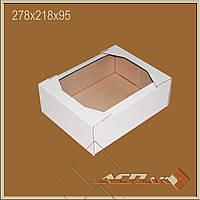 Кондитерский гофро-лоток 278х218х95, ТК-23 светлый