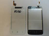 Сенсор Lenovo A390 White (6 pin) orig