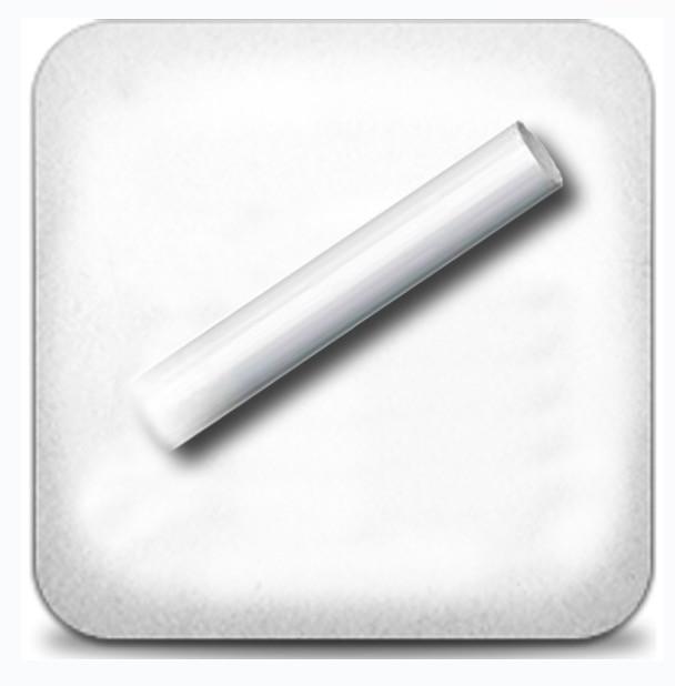Труба гладкая 2,0м д.19мм белая