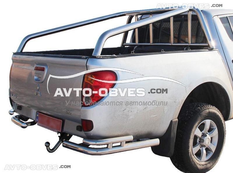 Защитная дуга в кузов для Митсубиши Л200 2006-2015 L