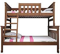 Двухъярусная кровать Комби 2 90х140х200 ТИС 1760х1540х2125мм
