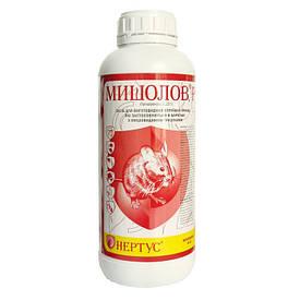 Родентицид Мышелов / мишелов, бродифакум 0,25 г/л, раствор для приготовления приманок для мышей