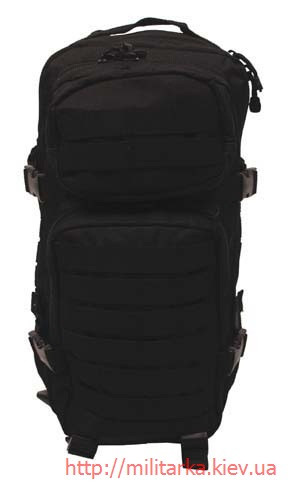 Рюкзак штурмовой черный MFH, 30 л