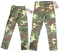 Камуфляжные лосины-брюки 3-7 лет