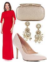 Как подобрать женские туфли к платью на новогодний вечер?