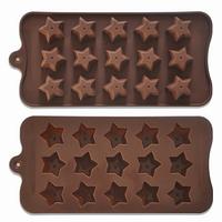 Форма силиконовая Звездочки для конфет, мармелада, декора, шоколада, льда, фото 1