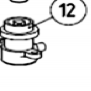 Механизм разблокировки (в сборе) AN-MOTORS ASW.5012