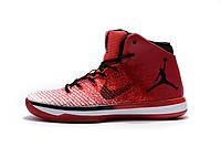 Баскетбольные кроссовки Nike Air Jordan 31 красные