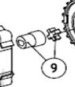 Муфта (комплект) AN-MOTORS ASW.5009